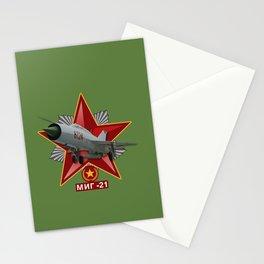 Mikoyán-Gurévich MiG-21 Stationery Cards
