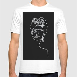 Frida Kahlo BW T-shirt