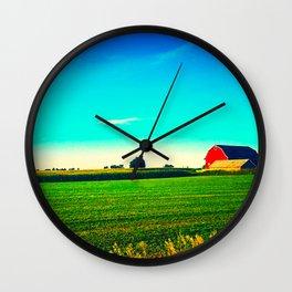 RedBarn Wall Clock