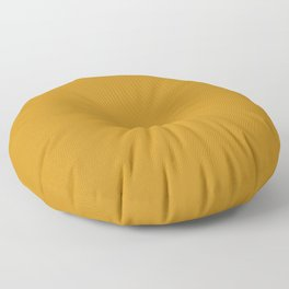 Best Seller Golden Mustard Solid Color Pairs w/ Sherwin Williams 2020 Trending Hue Auric Gold SW6692 Floor Pillow