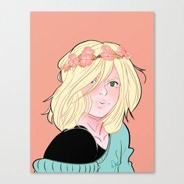 YOI Flower Boys - Yuri Plisetsky Canvas Print