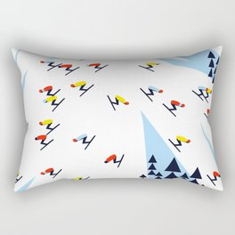 THE MOUNTAINS. NIGHT. Rectangular Pillow
