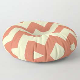 Pastel Chevron Floor Pillow