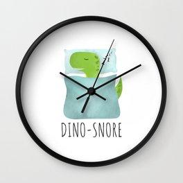 Dino-Snore Wall Clock