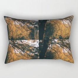 Through the trees Rectangular Pillow