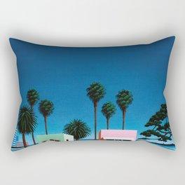 Hiroshi Nagai Art Print Poster Vaporwave Aesthetic Rectangular Pillow