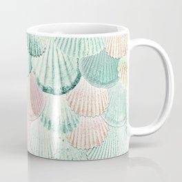 MERMAID SHELLS - MINT & ROSEGOLD Coffee Mug