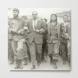 Che Guevara, Fidel Castro and Revolutionaries Metal Print