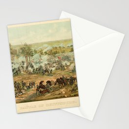 Civil War Battle of Gettysburg July 1-3 1863 by Paul Philippoteaux Stationery Cards