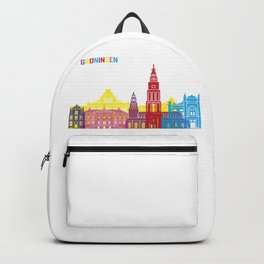 Groningen skyline pop Backpack