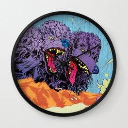 ADULTHOOD (Two-Headed Dog) Wall Clock