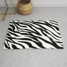 Minimalist Zebra Rug