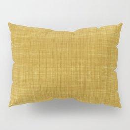 Tissu d'écorce Gold Pillow Sham
