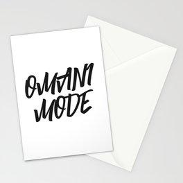 OMANI MODE STYLISH FONT مود عماني Stationery Cards