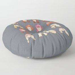 hayley in music videos Floor Pillow