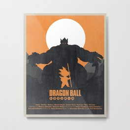 Dragon Ball - Oozarus Shadow Metal Print