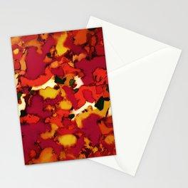 Deep depth heat Stationery Cards