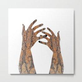In Your Hands Metal Print