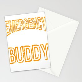 """""""Emergency Drinking Buddy"""" for you and everybody. Makes a nice gift for your family and friends!  Stationery Cards"""