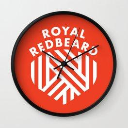 Royal RedBeard Wall Clock