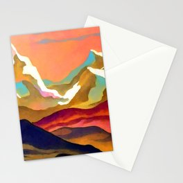 Nicholas Roerich Mountains Stationery Cards