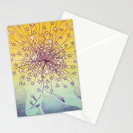 Bursting Star Plant Stationery Cards