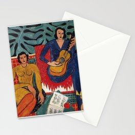 Henri Matisse - Music - Exhibition Poster Stationery Cards