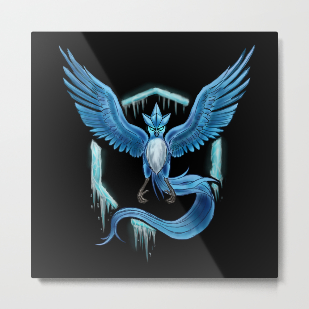 Team Mystic Metal Print by Bertonilee MTP8011433