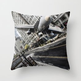 Shockwave Throw Pillow