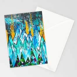 Fire on the Mountain  Stationery Cards