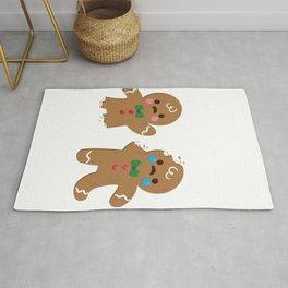 I Can't Feel My Legs Gingerbread Man Christmas print Rug