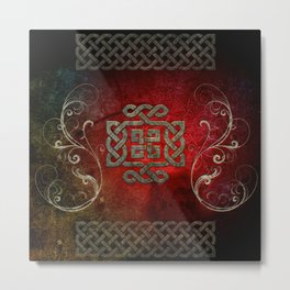The celtic knot Metal Print