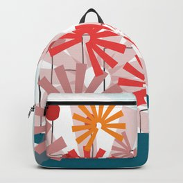 Floral Vase 3  #society6 Backpack