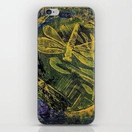 Dragonfly Dance #4 iPhone Skin