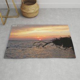 Watercolor Sunset, Janes Island 10, Maryland Rug