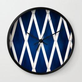 Closed Blues Wall Clock