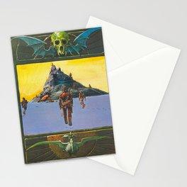 Moebius explore new world Stationery Cards