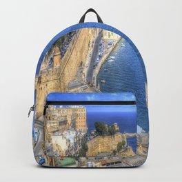 Malta Valletta Harbour Backpack