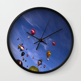 Balloon fiesta Wall Clock