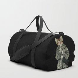 Kitten Dressed as Cat Sporttaschen
