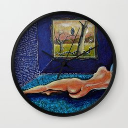 Homage to Velasquez Wall Clock