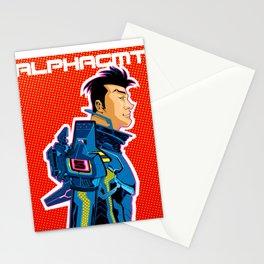 Imaginaut: BLUE Stationery Cards