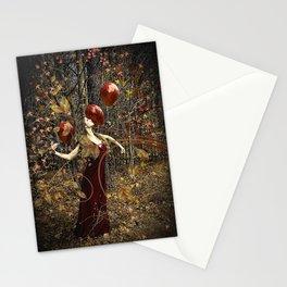 Chanson de L'Automne Stationery Cards