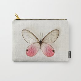 Pink Glasswing  Carry-All Pouch