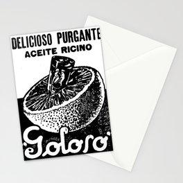 oli de ricino Stationery Cards