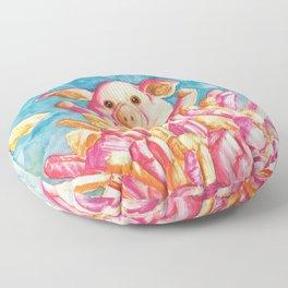 Porky Crystal Power Floor Pillow