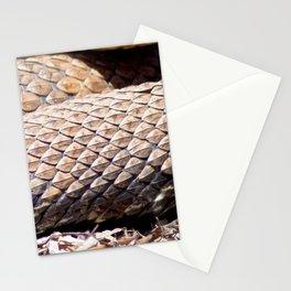 Watercolor Snake, Water Moccasin 12, Merchants Millpond, North Carolina Stationery Cards