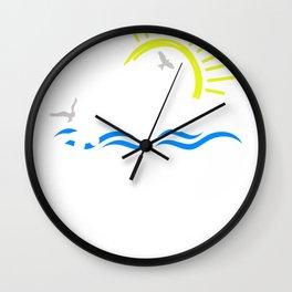Lake Junkie Lake Life On the Lake Gift Wall Clock