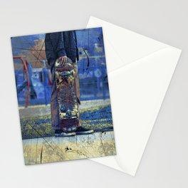 Waiting to Skate  -  Skateboarder Stationery Cards