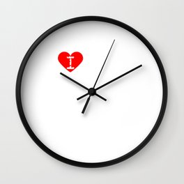 I Heart Jesus | Love Jesus Wall Clock
